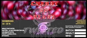 twisted aroma concentrato cherry bo berry 10ml