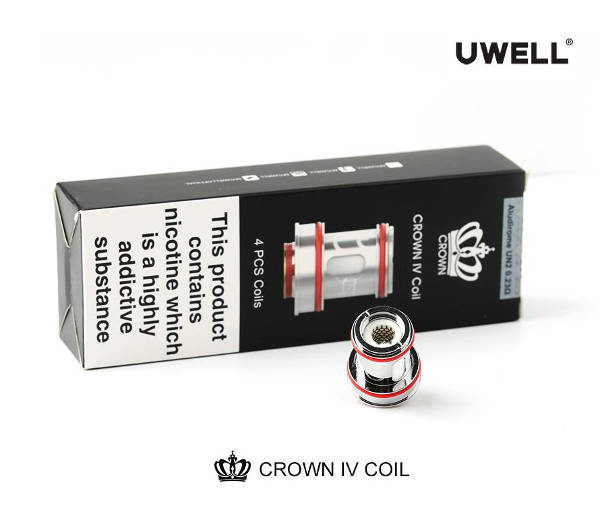 resistenze mesh uwell crown 4 scatola